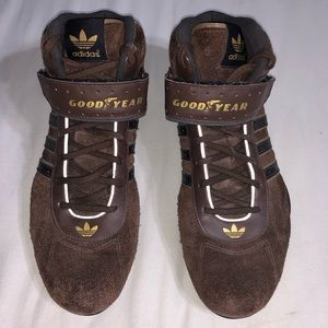 Vintage Adidas Goodyear Shoes